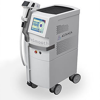 The ReSmooth laser for hair removal.