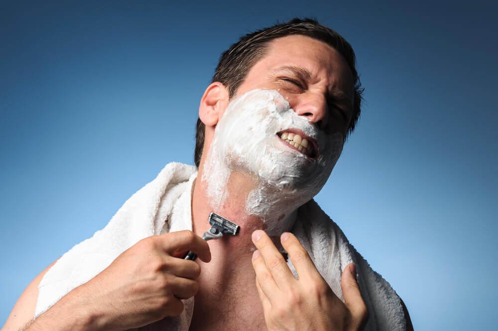 shaving ingrown hair