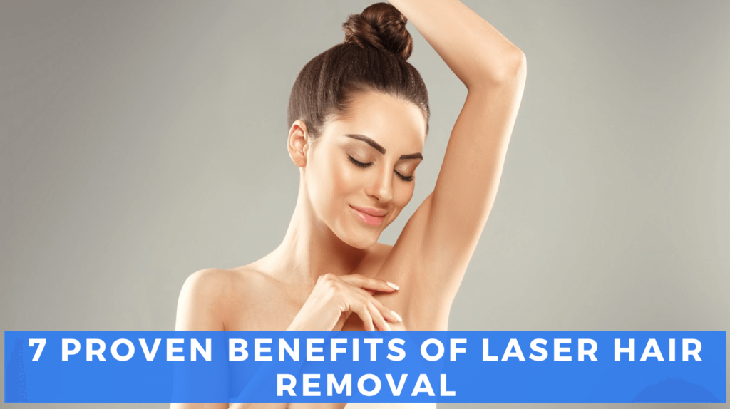 Laser hair removal benefits header